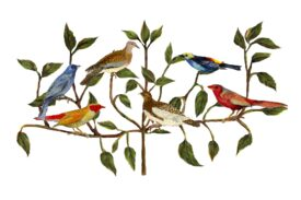 Birds and Butterflies Birds and Branches Artwork