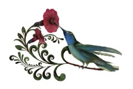Birds and Butterflies Humdilly Artwork