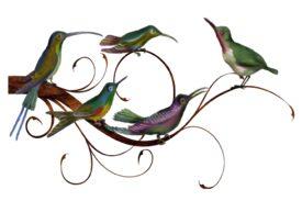 Birds and Butterflies Birdz Family Artwork