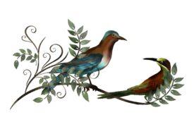 Birds and Butterflies Salli and Sammi Artwork