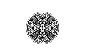 Cultural Illustrations Celtic Cross 01 Artwork