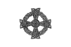 Cultural Illustrations Celtic Cross 04 Artwork