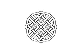 Cultural Illustrations Celtic Knot 01 Artwork