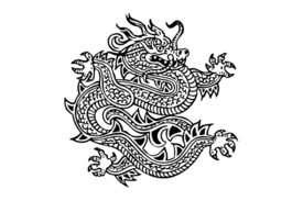 Cultural Illustrations Art - Dragon 05 Artwork