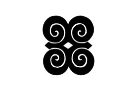 Cultural Illustrations Adinkra - Dwannimmen Artwork