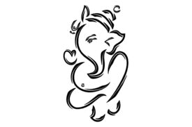 Cultural Illustrations Ganesha 07 Artwork