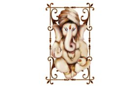 Cultural Illustrations Ganesha 08 Artwork