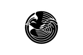 Cultural Illustrations Japanese Family Crest - Phoenix 03 Artwork