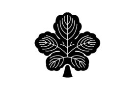 Cultural Illustrations Japanese Family Crest - Plantain 02 Artwork