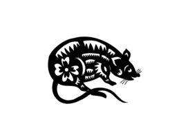 Zodiac Signs Rat Zodiac Sign 04 Artwork