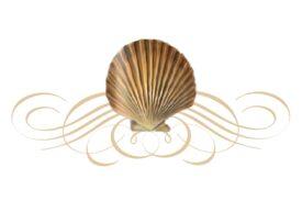 Seashells, Fish, and Beach Seashell Flourish 03 Artwork