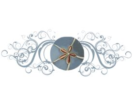 Seashells, Fish, and Beach Seashell Flourish 20 Artwork