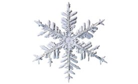 Winter and Holiday Snowflake 25 Artwork