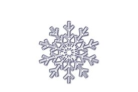 Winter and Holiday Snowflake Drawing 13 Artwork