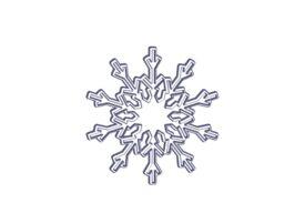 Winter and Holiday Snowflake Drawing 15 Artwork