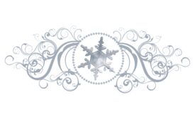 Winter and Holiday Snowflake Pattern 06 Artwork