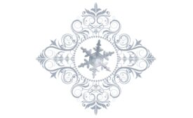 Winter and Holiday Snowflake Pattern 07 Artwork