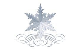 Winter and Holiday Snowflake Pattern 09 Artwork