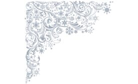 Winter and Holiday Snowflake Pattern 11 Artwork