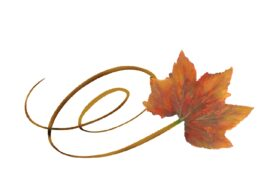Spring Flowers, Autumn Leaves, Grapes Swirly Rock Maple Leaf Artwork