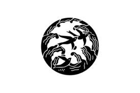 Cultural Illustrations Japanese Family Crest - Wave 01 Artwork