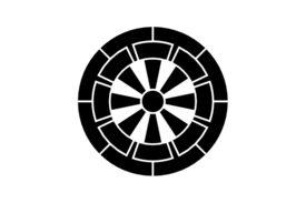Cultural Illustrations Japanese Family Crest - Wheel Artwork