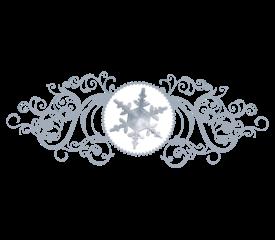 Snowflake Pattern 06 Winter and Holiday Wedding Illustration