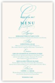 Bickham Watermark 2 Contemporary and Classic Menus
