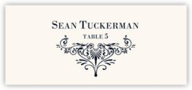 Vignette 0637 Contemporary and Classic Place Cards