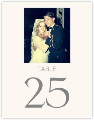 Memory Lane Table Numbers