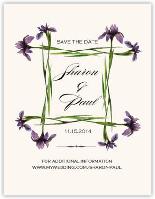 Iris Square Save the Dates