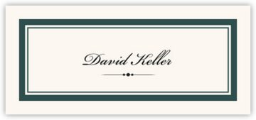 Divider 0498 Place Cards