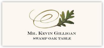 Swamp Oak Swirly Leaf
