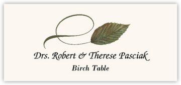 Birch Twisty Leaf