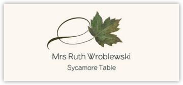Sycamore Twisty Leaf