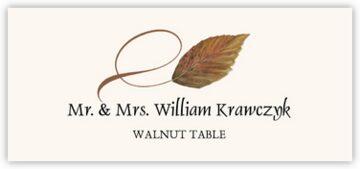 Walnut Twisty Leaf