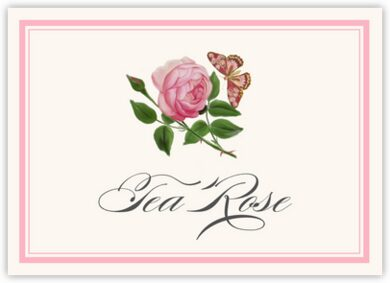 Pink Tea Rose Table Names