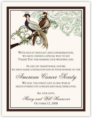 Asian Peace Birds Donation Cards