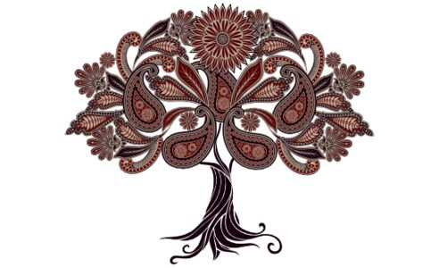 Monogram: Ananda Tree Indian Monogram