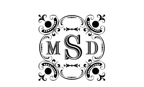 Monogram: Chiseled Monogram 04
