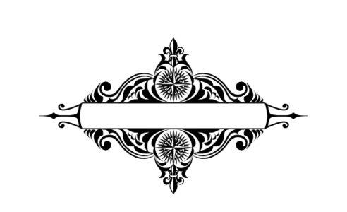 Monogram: Compass North Vintage Monogram