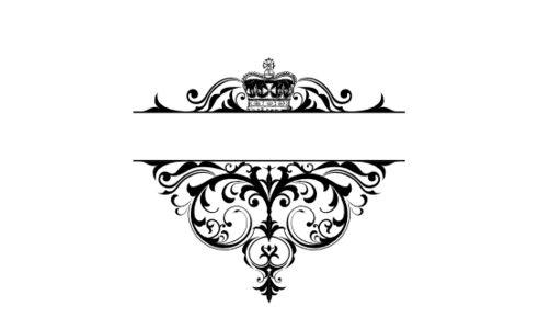 Monogram: Crowned Vintage Monogram