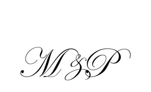 Monogram: Edwardian Monogram 01