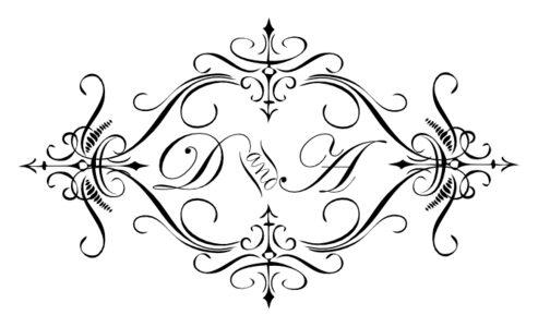 Monogram: Edwardian Monogram 22