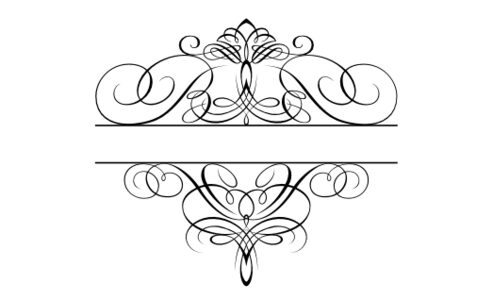 Monogram: Flourish Monogram 01