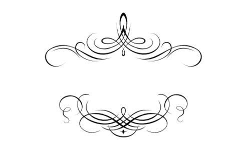 Monogram: Flourish Monogram 04