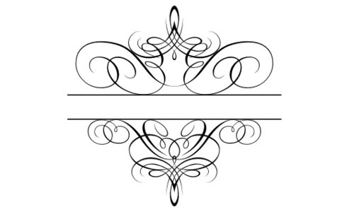 Monogram: Flourish Monogram 05