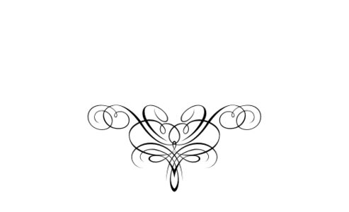 Monogram: Flourish Monogram 06