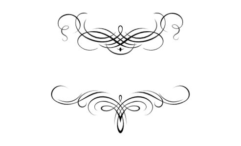 Monogram: Flourish Monogram 08