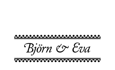 Monogram: Garamond Swash Monogram 13